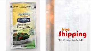 Hellmann's® Raspberry Vinaigrette Dressing - Fat Free - Minimus.biz