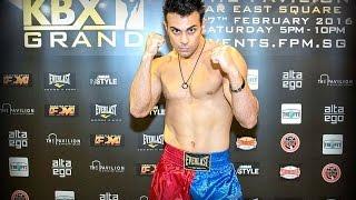 Hesamoddin Abdi (Evolve MMA) KBX Grand MuayThai Fight