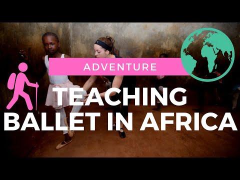 CLIMBING KILIMANJARO X TEACHING BALLET IN AFRICA