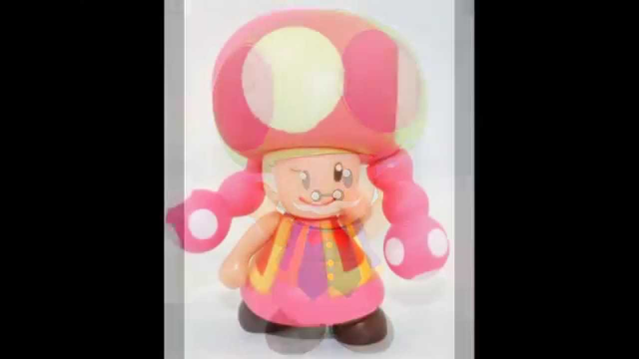 New 7pcs Super Mario Bros 3.5″ Old Toad Toadette Poseable ...