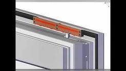 arimeo classic S Montage Einbau selbstregelnder Fensterfalzlüfter