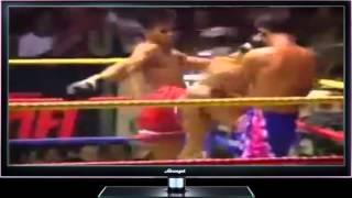 043 Мега жестокие нокауты в клетке MMA нокауты с локтей в Муай Тай