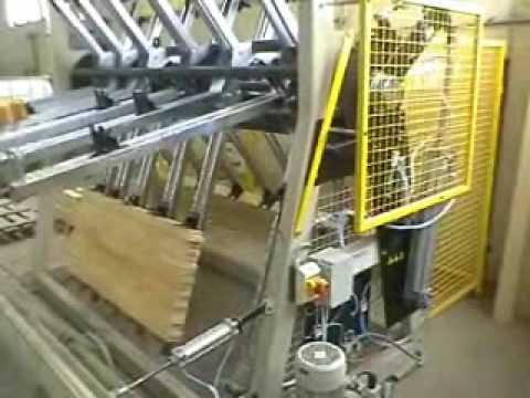 Timber Press For Wood Sections - YouTube