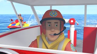 Fireman Sam | Ocean on Fire 🚒🔥1 Hour Compilation | Kids Movie | Videos for Kids