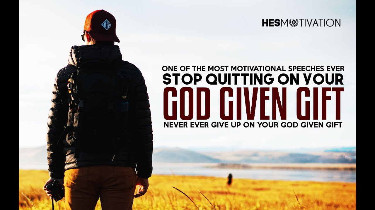 STOP QUITTING ON YOUR GOD GIVEN GIFT - NEW Motivational Video (ft. Eric Thomas)