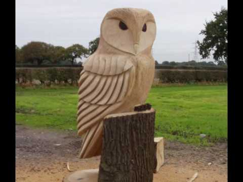 Pin by cathy on chainsaw carving chainsaw great horned owl