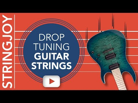 Drop Tuning Guitar Strings: What Gauges Are Best?