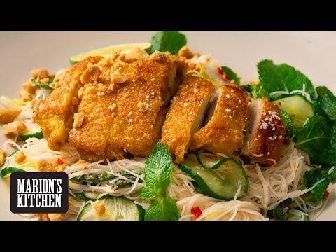 Crispy Chicken & Noodle Salad - Marion's Kitchen