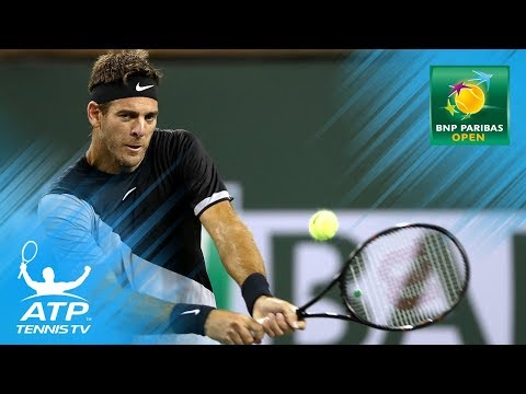 DelPotro, Lopez fight, Kohlschreiber, Herbert surprise | Indian Wells 2018 Highlights Day 6