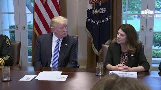 President Trump Hosts the California Sanctuary State Roundtable