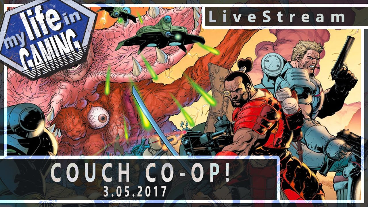 Couch co op 3 livestream youtube for Couch coop ps4