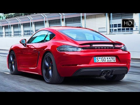 2018 Porsche 718 Cayman GTS with 365 HP Racetrack Test Drive Footage HD