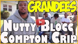 Nutty Blocc Crips on Grandee Street in Compton, CA talking about life