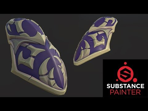 Creating 3D Game Art [Texturing in Substance Painter]