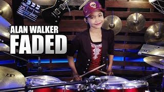 Download Alan Walker - Faded Drum Cover by Nur Amira Syahira