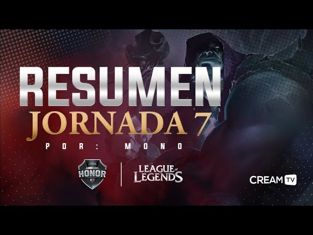 Semana 4 en la División de Honor | League of Legends