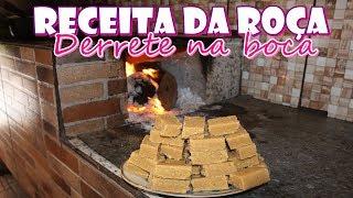 DELICIOSO DOCE DE LEITE DA ROÇA QUE DERRETE NA BOCA - FEITO NO FOGÃO A LENHA