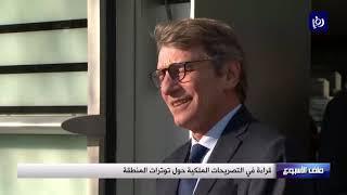 قراءة في التصريحات الملكية حول توترات المنطقة - (17/1/2020)