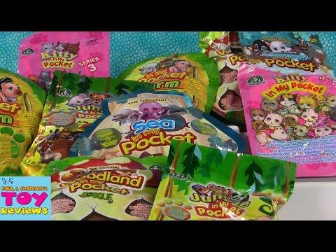 In My Pocket Palooza #2 | Kitty Sea Farm Snow Toy Review | PSToyReviews