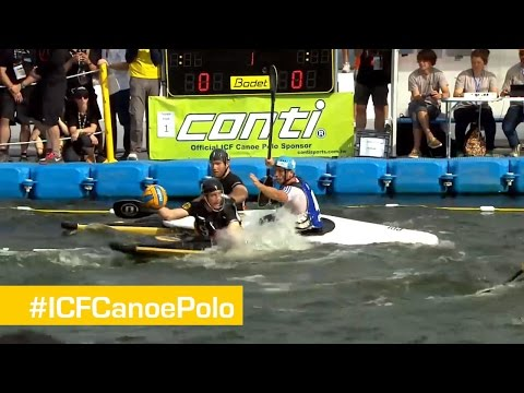 Men Gold Match- Germany vs France   Canoe Polo World Championships 2014