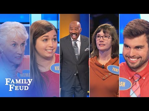 Family Feud's BEST BLOOPERS and EPIC FAILS!!! | Part 4