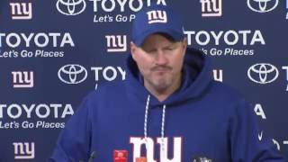 Ben McAdoo Post Game Press Conference | Giants vs Packers Playoffs