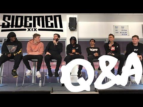 SIDEMEN Q&A || Cardiff VIP Event || 2 April 2017