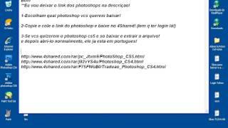 Como Baixar Photoshop CS4 ou CS5 (facil e rapidoo!)