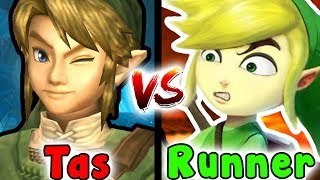 Tas VS Speedrun - City In The Sky Dungeon/Temple (Zelda Twilight Princess GC)