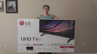 LG 4k TV 65UH61 Unboxing