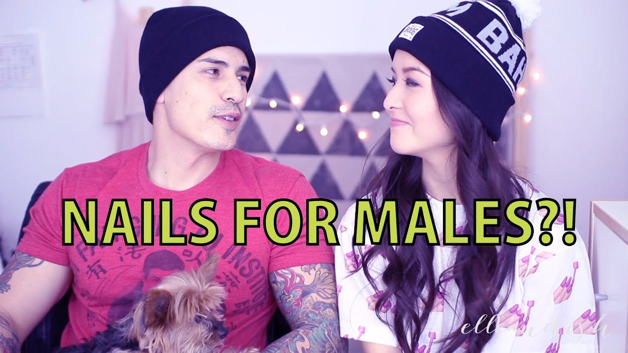 NAILS FOR MALES First Impression - YouTube