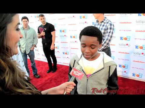 Curtis Harris at the Lollipop Theater NightUnderTheStars RIO2 at @NickelodeonTV @TheCurtisHarris