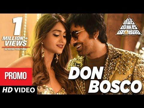 Don Bosco Video Song Promo   Amar Akbar Antony Telugu Movie   Ravi Teja, Ileana D'Cruz