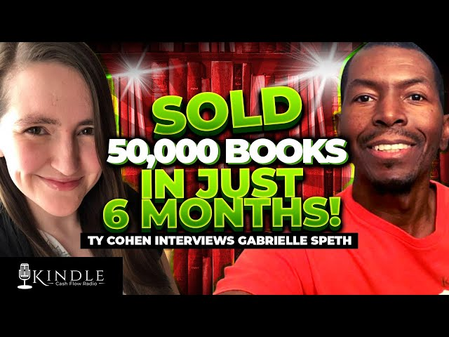 Mom of 3 Gabrielle Speth Sold 5000 Copies of Her Books and Got 250,000 Page Reads In Just 6 Months