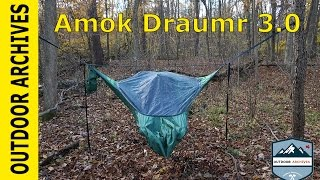 The worlds most comfortable Hammock? Amok Draumr 3.0 Overview