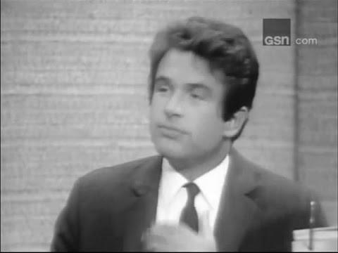 What's My Line?  Warren Beatty; PANEL: Steve Lawrence, Sue Oakland Sep 11, 1966