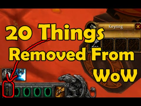 20 Things Removed From WoW