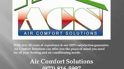 Air Comfort Solutions - Air Conditioning Repair  & Heating Service McKinney TX
