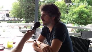 Yohm aux Francofolies de Spa 2015 interview par Reporter TV