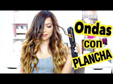 Como Ondular El Cabello Con Plancha Beautybynena