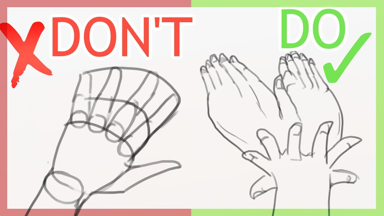 How to Draw a Hand How to Draw a Hand new photo