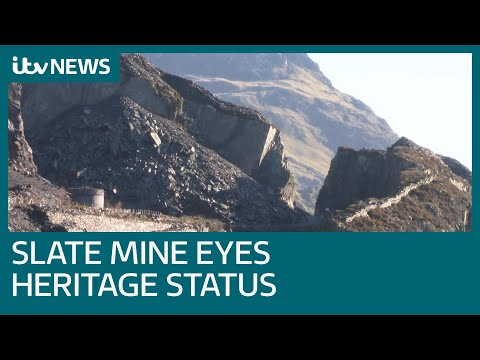 Welsh slate mine