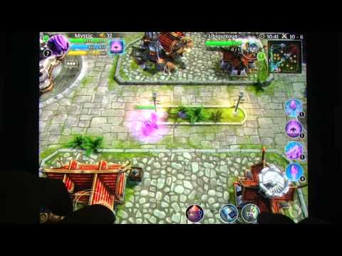 Heroes Of Order & Chaos - Multiplayer Online Game IOS IPad IPhone Gameplay Review - AppSpy.com