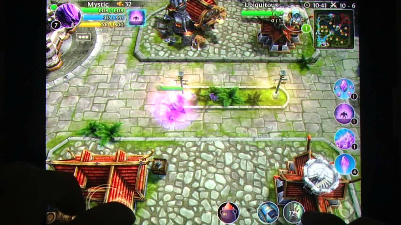 Heroes of Order   Chaos   Multiplayer Online Game iOS iPad iPhone     Heroes of Order   Chaos   Multiplayer Online Game iOS iPad iPhone Gameplay  Review   AppSpy com   YouTube