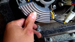 Hướng dẫn sửa máy phát điện, bệnh máy chạy mà không có điện.