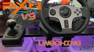 PXN V9 Steering Wheel UNBOXING screenshot 2