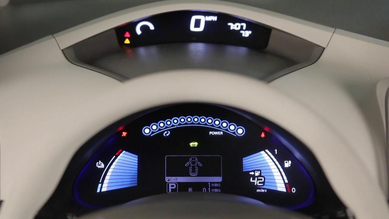2017 Nissan LEAF - Warning and Indicator Lights
