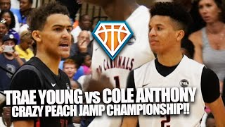 Trae Young vs Cole Anthony in CRAZY Peach Jam Final!! | + Michael Porter Jr GETTING BUSY