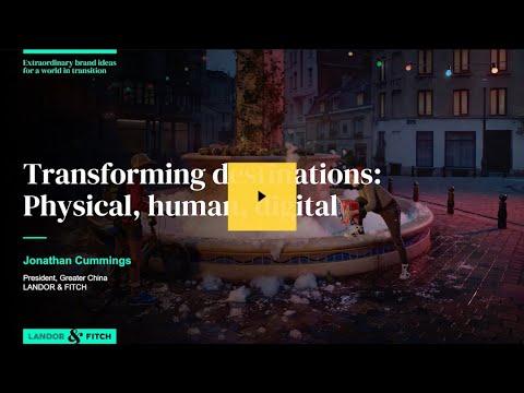 Extraordinary Webinar - Transforming destinations: Physical, human, digital