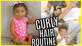 BABY HAIR CARE ROUTINE | How to grow your child